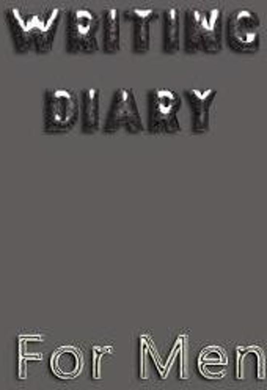 Writing Diary for Men