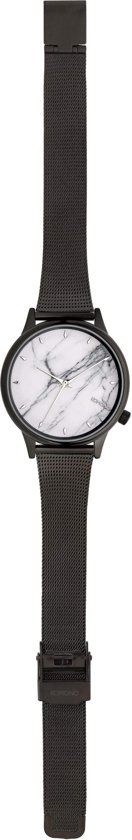 Komono Estelle White Marble Horloge