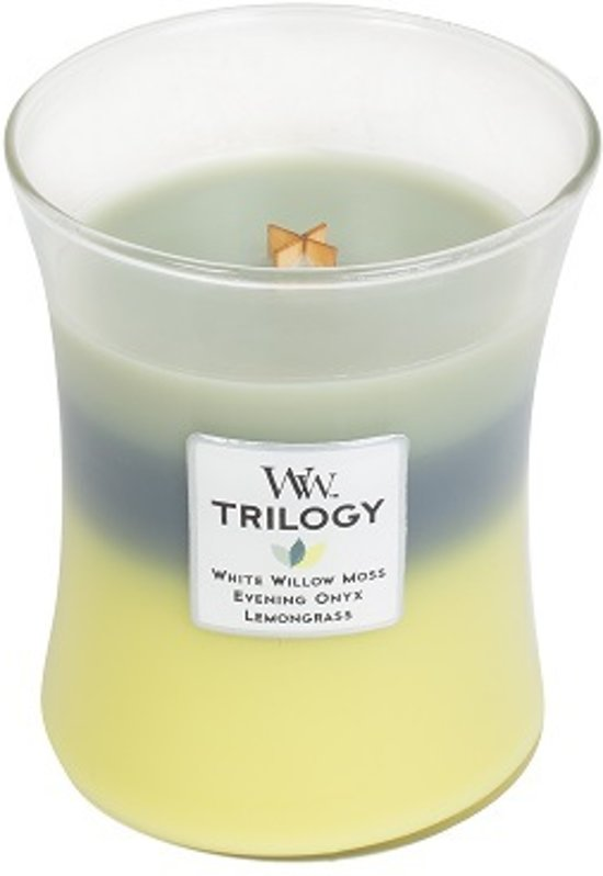 WoodWick Trilogy Medium Candle Woodland Shade