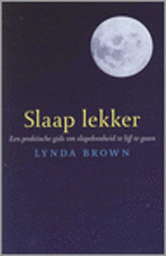 bol | slaap lekker, lynda brown | 9789058712554 | boeken