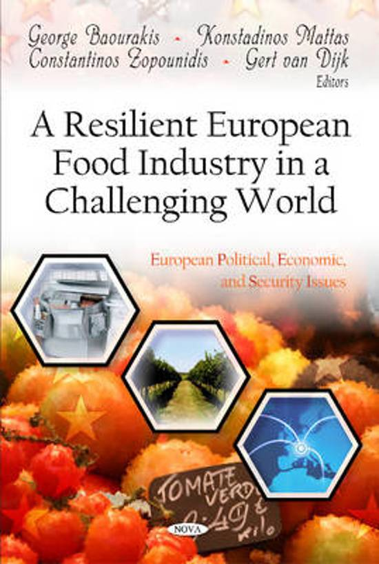 Resilient European Food Industry in a Challenging World