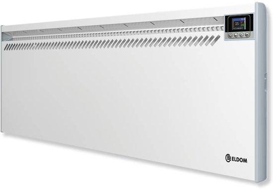 Eldom convector elektrische verwarming 2500watt for Zuinige elektrische verwarming met thermostaat