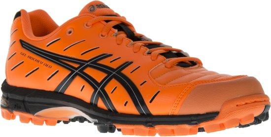 Asics Gel-Hockey Neo 3 Hockeyschoenen - Maat 44.5 - Mannen - oranje/zwart
