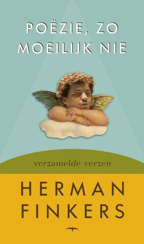 Boek cover Poezie, zo moeilijk nie van Herman Finkers (Hardcover)