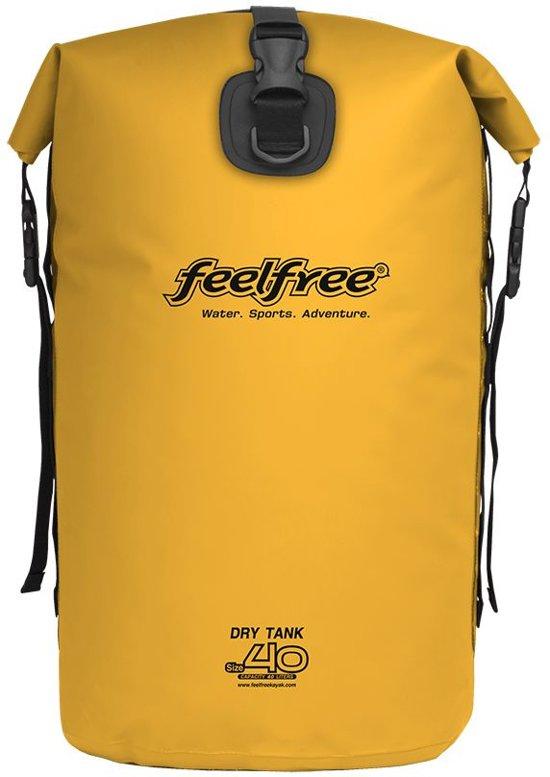 Drytank 40 liter geel