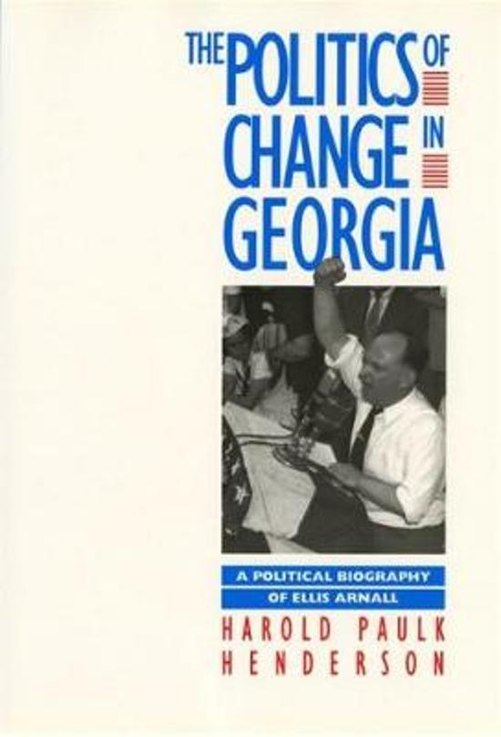 The Politics of Change in Georgia