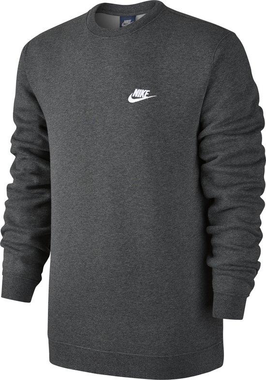 095296a2417 Nike Sportswear Crew Fleece Club - Sporttrui - Heren - Maat L - Grijs
