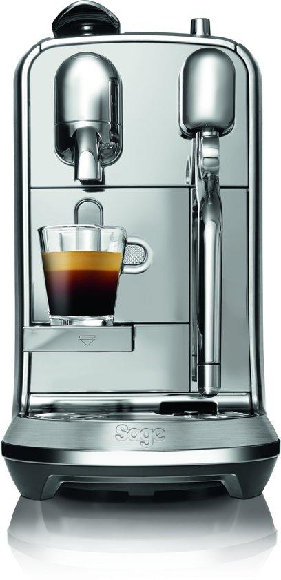 Nespresso Sage Creatista Plus SNE800BSS4EBL1 - Koffiecupmachine - RVS