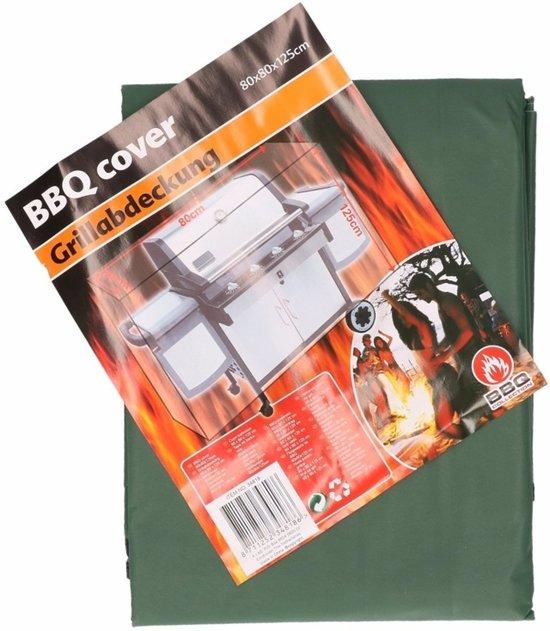 Barbecue beschermhoes - 80 x 80 x 125 cm - groen - bbq hoes