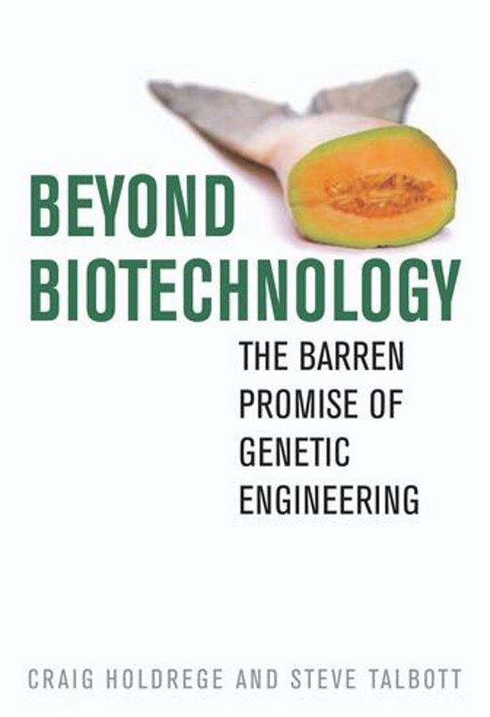 Bol Beyond Biotechnology Ebook Craig Holdrege