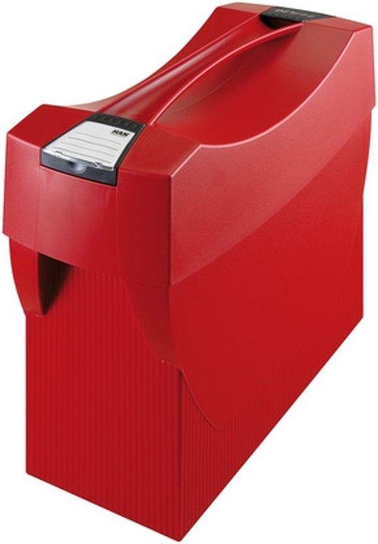 Hangmappenbox HAN Swing Plus met deksel rood