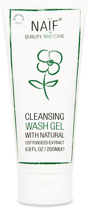 Naïf Reinigende Wash Gel - voor baby's & kids - 200ml
