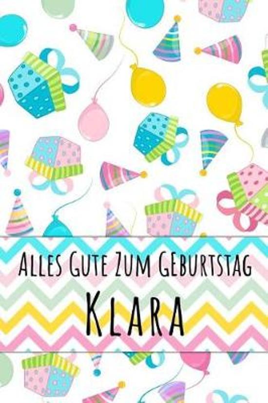 Alles Gute zum Geburtstag Klara