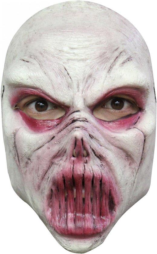 """""""Wit monstermasker voor volwassenen Halloween - Verkleedmasker - One size"""""""