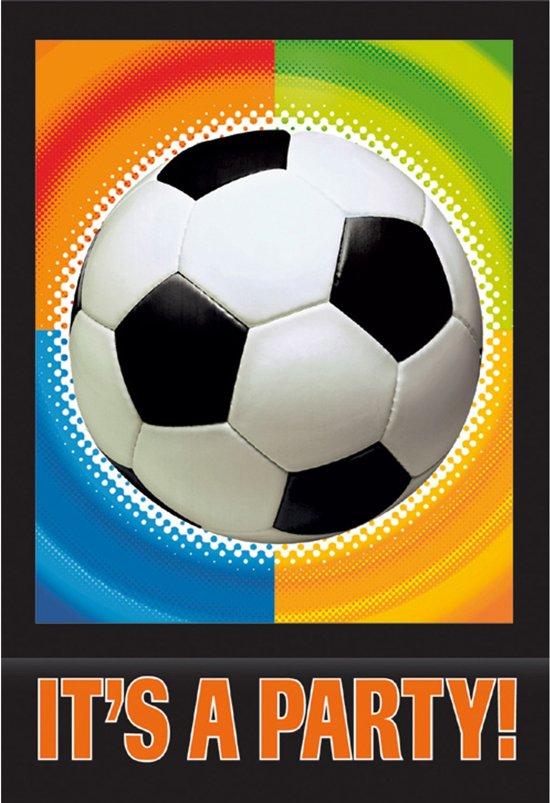 Uitnodiging Feest - Voetbal