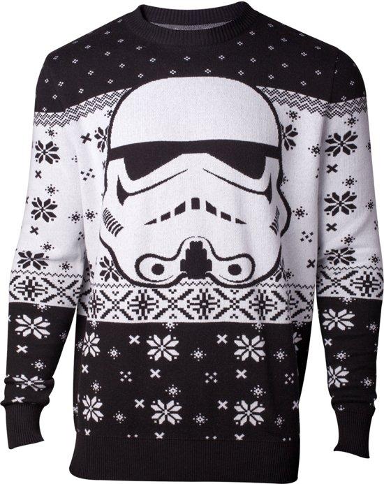 Kersttrui Tweedehands.Bol Com Difuzed Star Wars Kersttrui Stormtrooper Maat L Wit