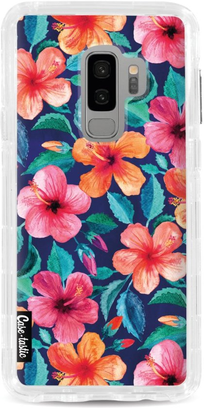 Casetastic Hard Case Samsung Galaxy S9 Plus - Colorful Hibiscus