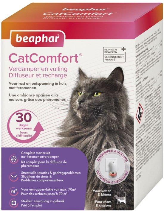Beaphar catcomfort verdamper met vulling 48 ml