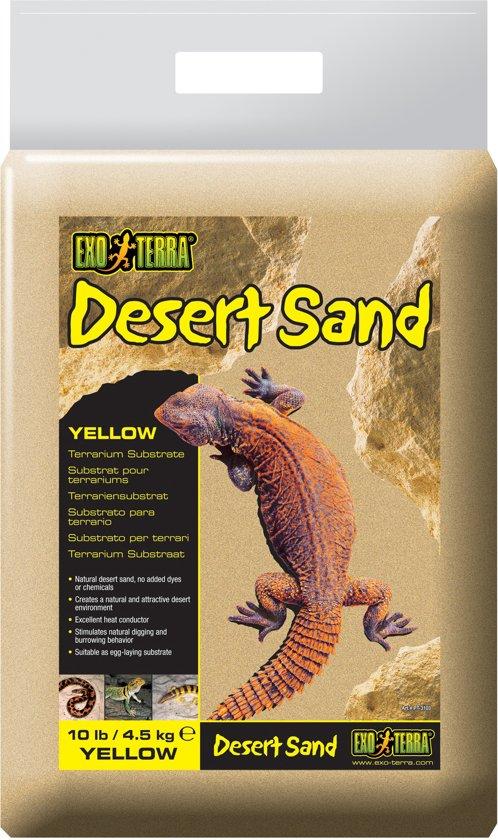Exo Terra - Woestijnzand - Geel - 4,5KG