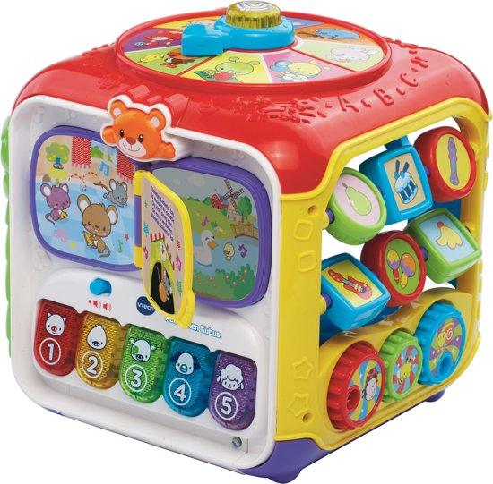 Afbeelding van VTech Baby Activiteiten Kubus - Interactieve kubus speelgoed