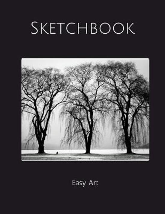 Bolcom Sketchbook Easy Art Black And White Trees Easy Art