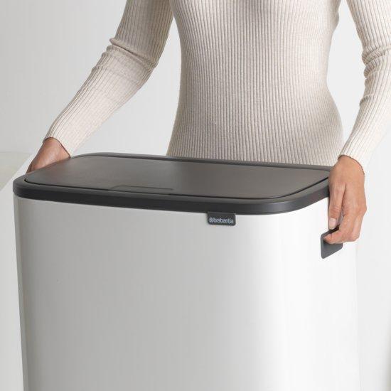 Brabantia Bo Touch Bin 2 x 30 Liter Wit
