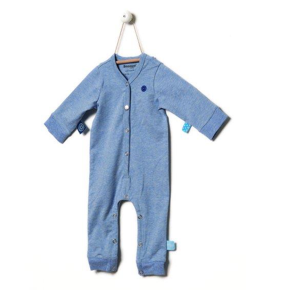 Snoozebaby Jongens Boxpak - blue melange - Maat 56