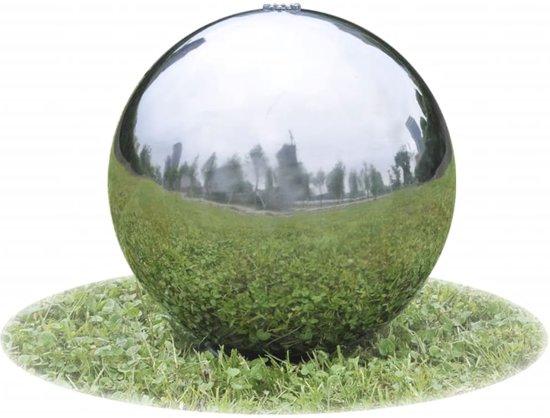 bol.com | vidaXL Fontein voor de vijver met LED lampjes RVS 30 cm