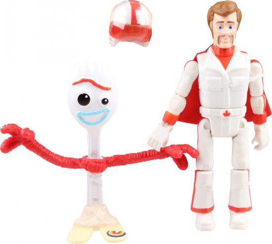 Afbeelding van Toy Story 4 Forky & Duke Caboom - Speelfiguur speelgoed