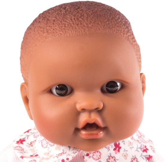 Donker Baby pop meisje Roze met kleding-23cm-vanilla aroma