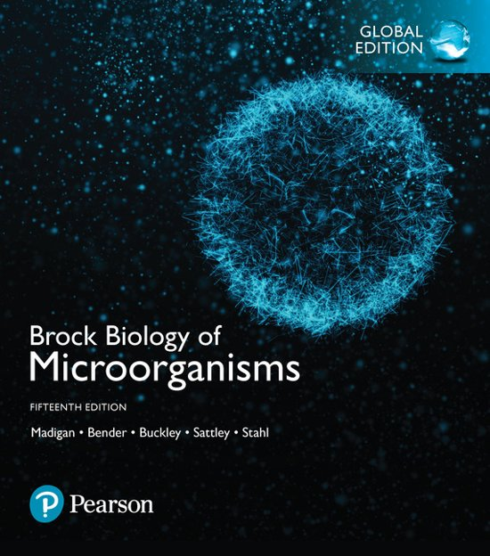 Boek cover Brock Biology of Microorganisms, Global Edition van Michael T. Madigan (Paperback)
