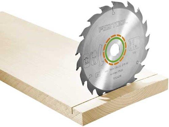 Festool cirkelzaagblad - dun - 160 x 1,8 x 20 - W18 - 500458