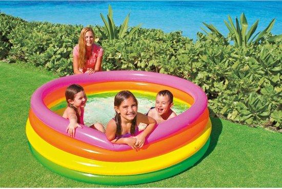 Intex Kinderzwembad Opblaasbaar Sunset Glow Multi 168 X 46 Cm
