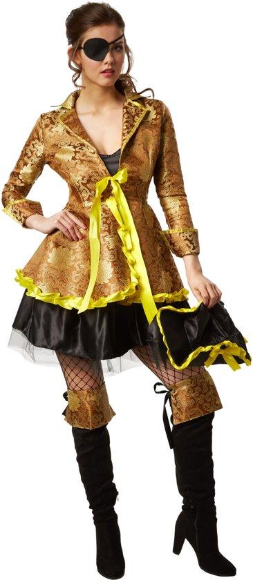 dressforfun 301771 Vrouwenkostuum Sierlijke Vrijbuitster voor dames vrouwen L verkleedkleding kostuum halloween verkleden feestkleding carnavalskleding carnaval feestkledij partykleding