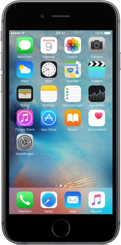 Apple iPhone 6s - 64GB - Space gray