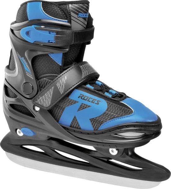 ROCES IJshockeyschaatsen verstelbaar JOKEY ICE 2.0 BOY Zwart/Blauw 30-33