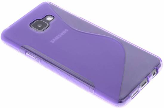 Coque Tpu Rouge S-line Pour Samsung Galaxy A3 (2017) Gacy3s