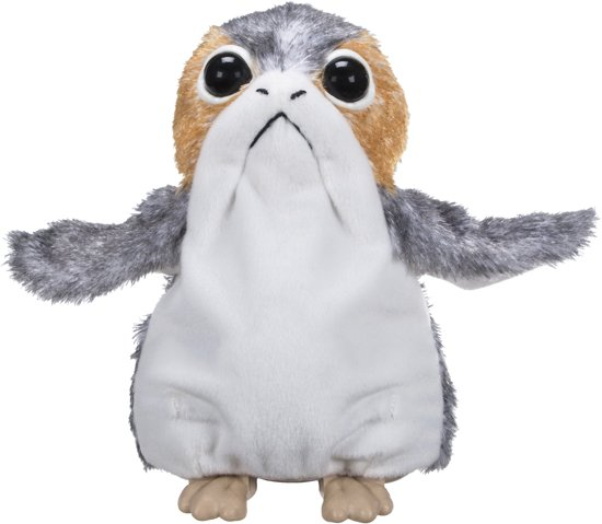 Star Wars: The Last Jedi Porg - Elektronische Knuffel
