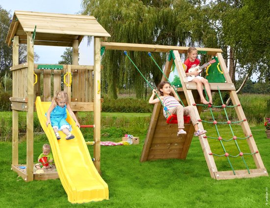 Speeltoestel Kleine Tuin : Bol.com jungle gym casa climb speeltoestel met klimrek met