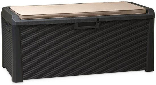 Bol.com toomax kussenbox opbergbox voor kussen tuinbank santorini