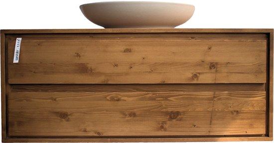Badmeubel 50 Cm : Bol badkamermeubel onderkast massieve hout cm soft
