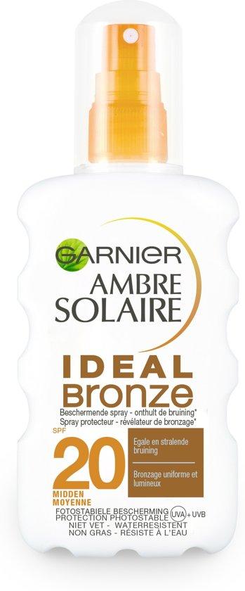 Garnier Ambre Solaire Ideal Bronze Zonnebrandspray SPF 20 - 200 ml
