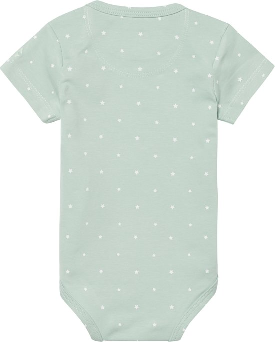 Noppies Romper Sevilla - Grey Mint - Maat 68