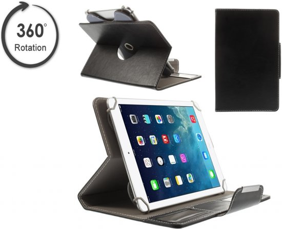 Acer Iconia Tab 10 A3 A30 Hoes met handige 360 graden stand, Multi-Stand Slimfit Case, rood , merk i12Cover in Schans