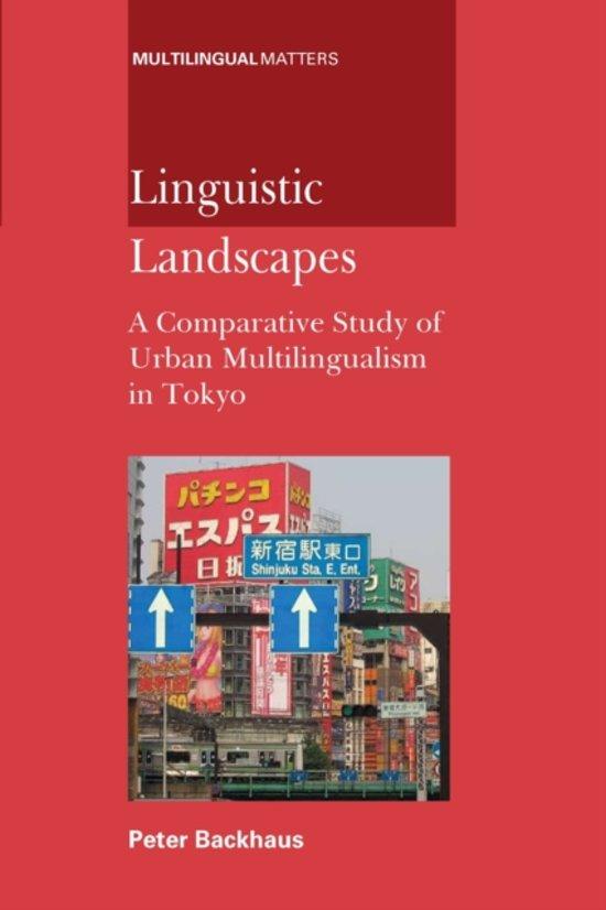 Linguistic Landscapes