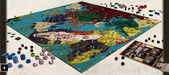Axis and Allies - WWI 1914