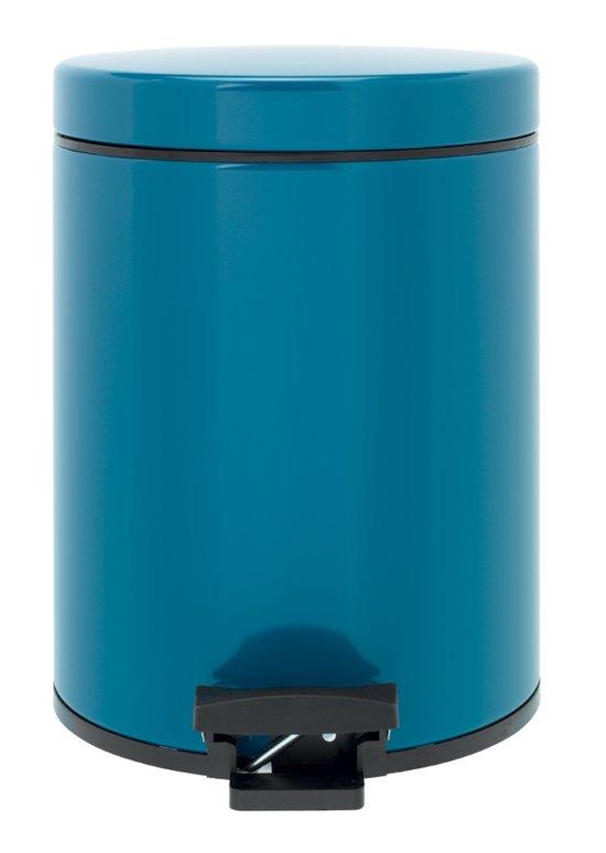 Brabantia Classic Pedaalemmer - 5 l - Vintage Blue