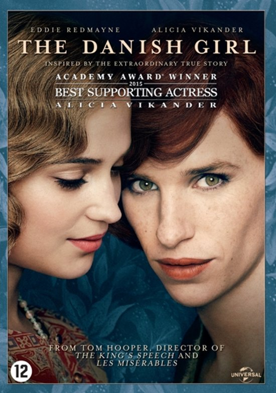 DVD cover van The Danish Girl