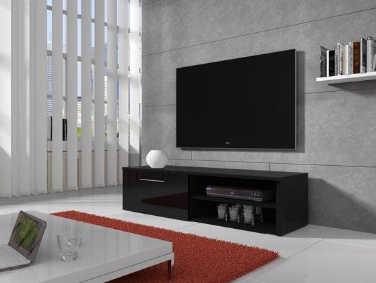 Hoogglans Meubels Beschadigd : Bol.com meubella tv meubel bash hoogglans zwart 120 cm