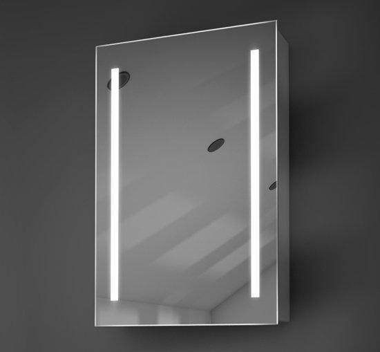 bol.com | Design badkamer spiegelkast met verlichting en ...